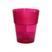 кашпо круг розовый