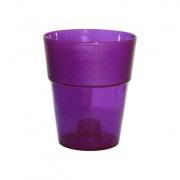 кашпо круг фиолетовый